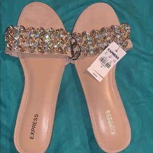 Brand new express sandals